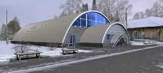 Спортивный ангар в Казани