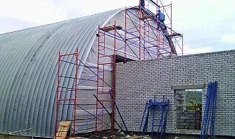 Строительство ангаров в Казани