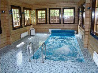 Строительство бани с бассейном в Казани