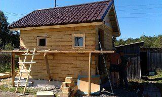Строительство саун под ключ в Казани