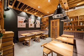Дизайн интерьера кафе в Казани