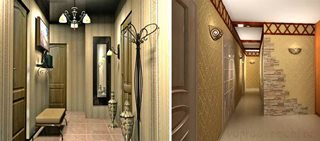 Дизайн коридора в Казани
