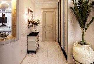 Фото варианты Дизайн коридора в Казани