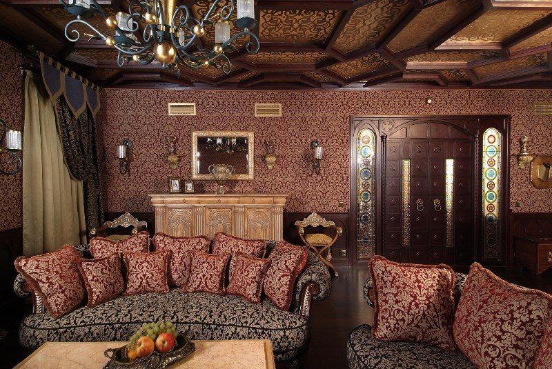 Дизайн интерьера квартиры в Турецком стиле