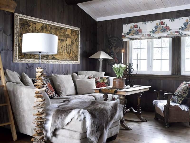 Дизайн интерьера квартиры в Норвежском стиле