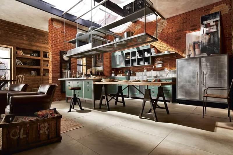 Дизайн интерьера квартиры в стиле Милитари