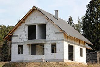 Проекты домов 9 на 12 из газобетона в Казани
