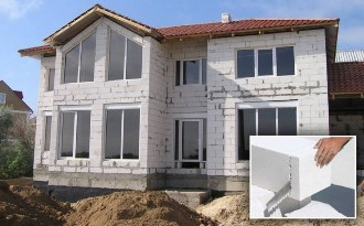 Проекты домов 8х10 из газобетона