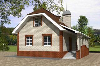 Проекты домов из кирпича 6х7 в Казани
