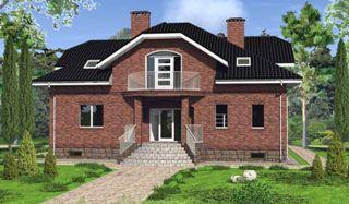 Проекты домов из кирпича 6х8 в Казани