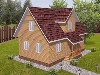 Проекты домов из кирпича 6х9 в Казани