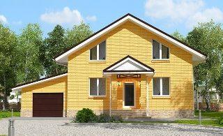 Проекты домов из кирпича 6х12 в Казани
