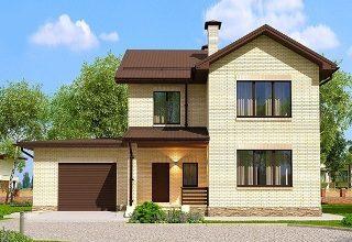 Проекты домов из кирпича 7х10 в Казани