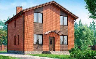 Проекты домов из кирпича 8х8 в Казани