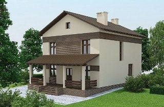 Проекты домов из кирпича 9х10 в Казани