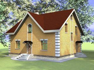 Проекты домов из кирпича 10х12 в Казани