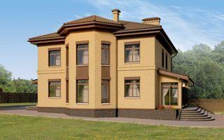 Проекты домов из кирпича 12х12 в Казани