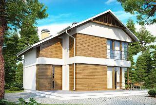Строительство каркасных домов в скандинавском стиле в Казани под ключ