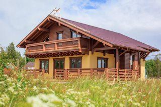 Строительство каркасных домов в стиле шале в Казани под ключ