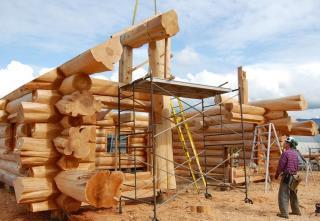 Строительство деревянных домов в русском стиле в Казани под ключ