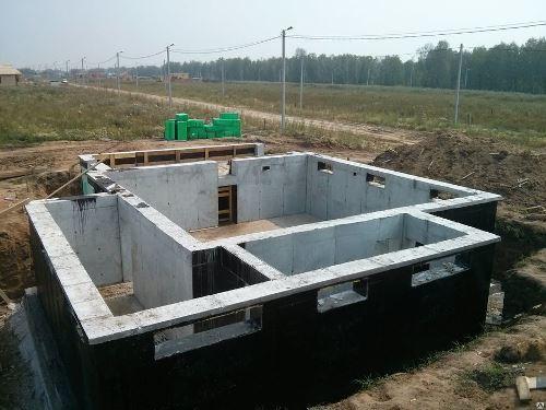 Строительство цокольного фундамент в Казани