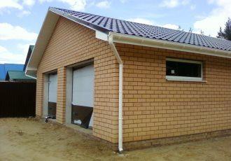 Строительство гаража из кирпича в Казани