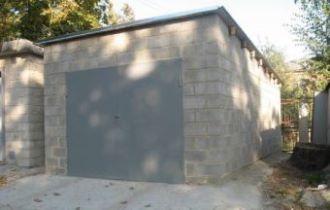 Строительство гаража из пеноблоков в Казани