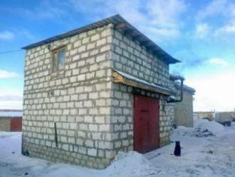 Строительство гаража из газобетона в Казани