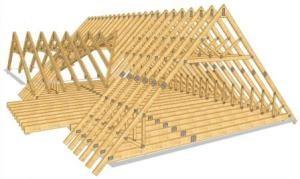 Строительство крыши дома в Казани