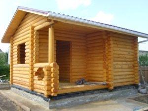 Строительство бань под ключ в Казани