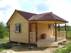 Строительство деревянных бань под ключ в Казани