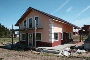 Строительство частного дома под ключ в Казани