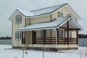 Зимний дом под ключ в Казани