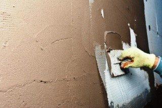 Фото процесса Штукатурка стен в Казани