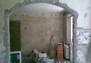 Фото процесса Перепланировка стен в Казани