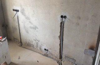 Фото процесса Выравнивание стен в Казани