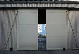 Откатные ворота гаражные в Казани