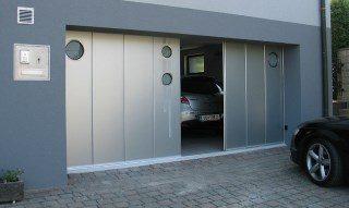 Фото процесса производства Откатные ворота гаражные в Казани