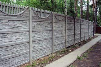 Бетонные заборы под ключ в Казани