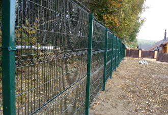 Забор из сетки гиттер (gitter) в Казани
