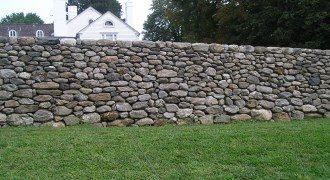 Забор из камня под ключ в Казани