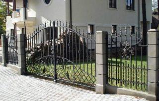 Ковано сварные заборы в Казани