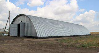 Строительство зернохранилища в Казани