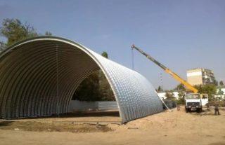 Фото Строительство зернохранилища в Казани